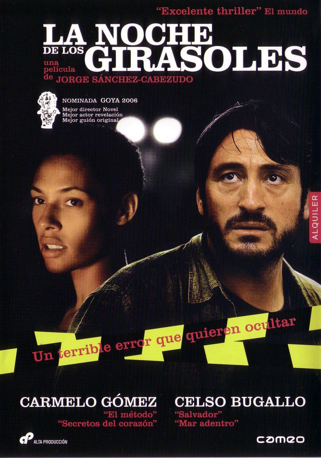 La noche de los girasoles: un buen thriller (en español)