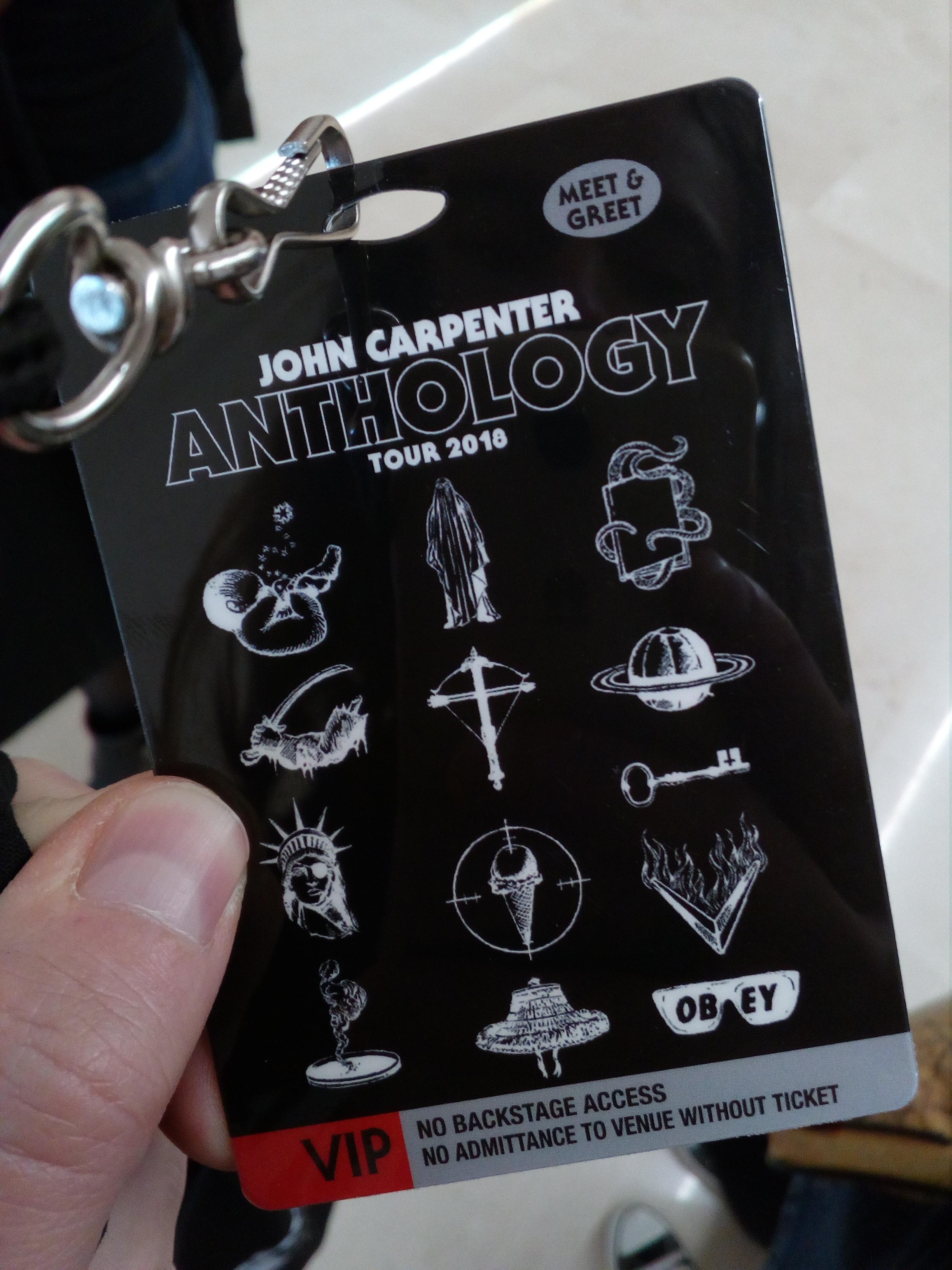 I met John Carpenter! (English)