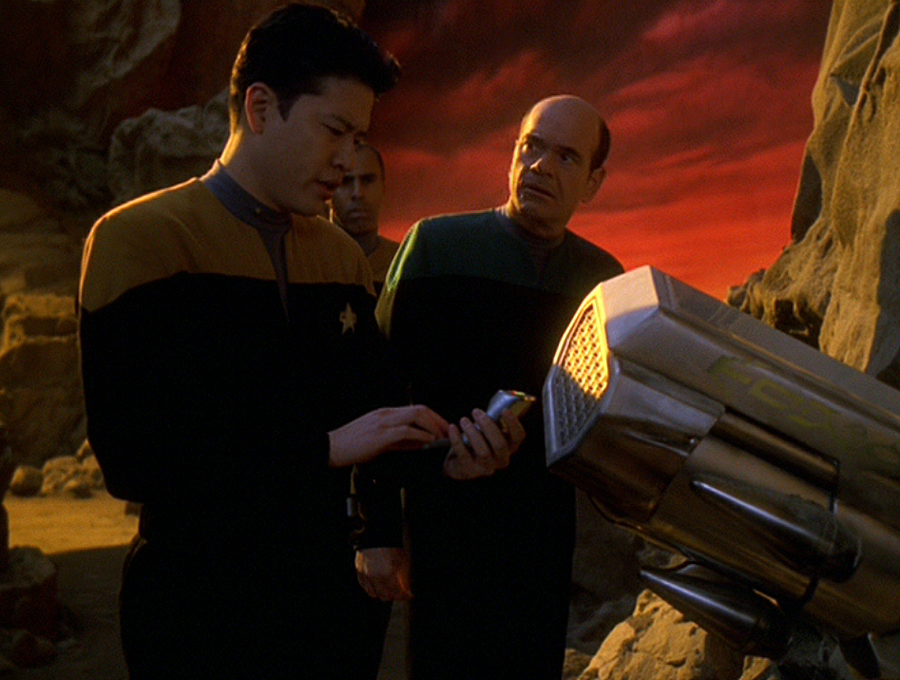 Star Trek: Voyager – S05E25, L'ordigno