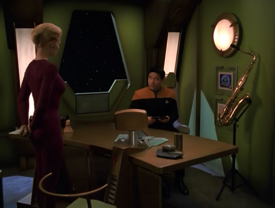 Star Trek: Voyager – S07E08, La Nightingale