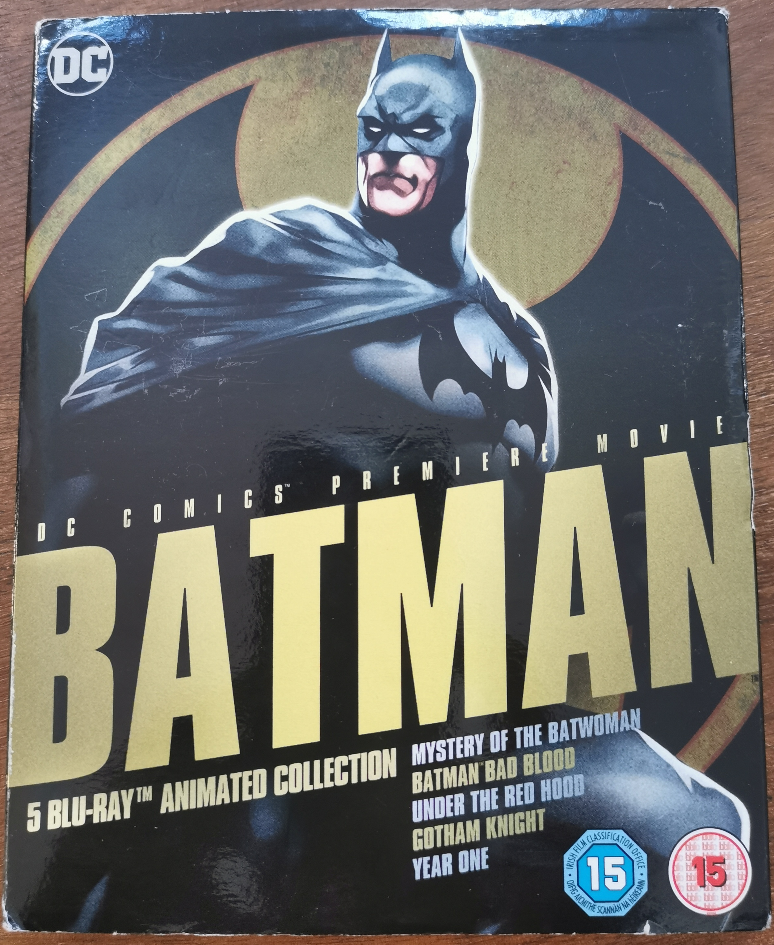 Batman Animated Collection: Reviews of Five Movies